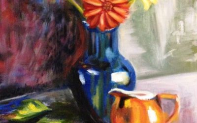 Flowers & Pitcher